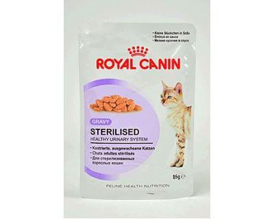 Royal Canin Feline Sterilised - kapsička mäso v šťave pre kastrované mačky 85 g