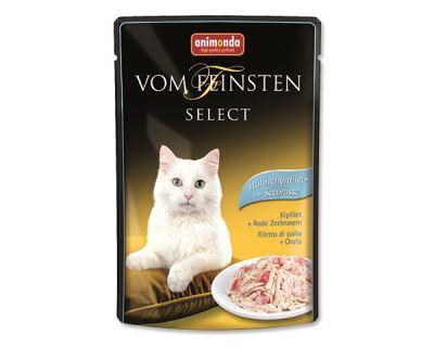 Animonda Vom Feinsten Select Kapsička - kuracie filet & pražma pre mačky 85 g