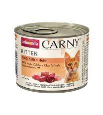 Animonda Carny Kitten Konzerva - teľacie & kura pre mačiatka 200 g