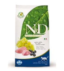N&D Grain Free Cat Adult Lamb & Blueberry - jahňacie & čučoriedky bezobilné pre dospelé mačky