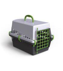Plastová přepravka Argi - zelená - 50 x 33 x 32 cm