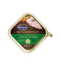 Butcher's Dog Monoprotein s krůtím a zelen. vanič 150g
