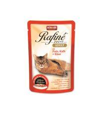 Kapsičky pre mačky Animonda Cat Rafiné Soupe - morka & teľacie & syr 100 g