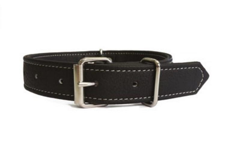 Obojok pre psa Argi z eko kůže - čierny - 1 bb26e3fb21