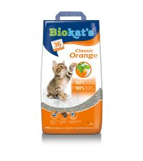 Gimpet Biokats Orange podstielka hrudkujúce s vôňou pomaranča, 10 kg