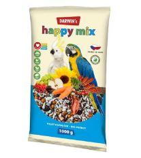 Darwin's velký papoušek Happy mix 1kg