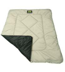 Maelson Cosy Roll Cestovné deka čierno-béžová
