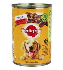 Pedigree konzerva Adult hovězí v želé 400g