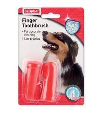 Zubná kefka pre psov Beaphar Dog-A-Dent na prst