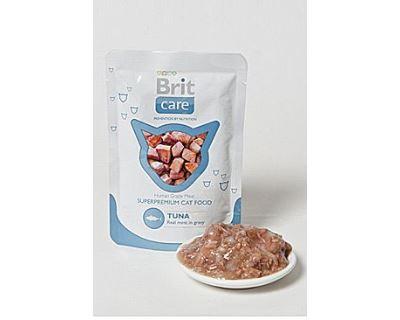 Brit Cat Pouches Tuna kapsička - tuniak pre mačky 80 g
