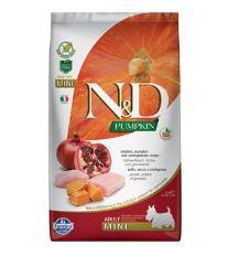 N&D GF Pumpkin DOG Adult Mini Chicken & Pomegranate