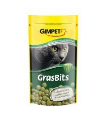 Gimpet Tablety GrasBits s mačacie trávou - doplnok stravy pre strávenie chlpov 40 g