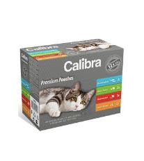 Calibra Cat  kapsa  Premium Adult multipack 12ks