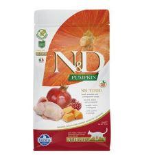 N&D Pumpkin CAT NEUTERED Quail&Pomegran 50g -VZOREK