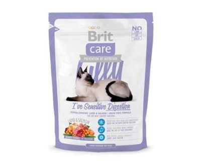 Brit Cat Lilly I`ve Sensitive Digestion - jahňacie & losos pre mačky s citlivým zažívaním 400 g