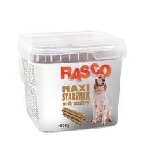 Pochoutka RASCO hvězda natural s drůbeží 800 g