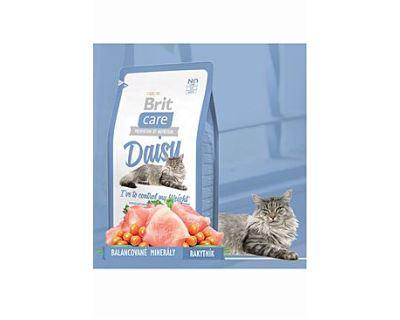 Brit Cat Daisy I`ve to control my Weight - moriak & ryža pre mačky s nadváhou 7 kg