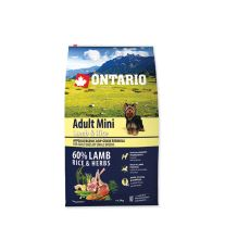 ONTARIO Dog Adult Mini Lamb & Rice