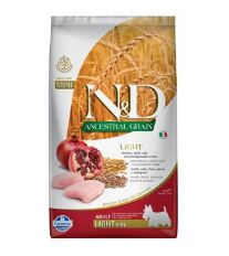 N&D LG DOG Light Mini Chicken & Pomegr 2,5kg