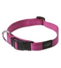 Obojok pre psa nylonový - Rogz Utility - růžový - 2,5 x 43 - 70 cm