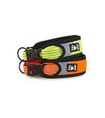 Obojek Hurtta Lifeguard Dazzle 35-45cm oranžový