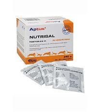 Aptus Nutrisal - doplnkové krmivo pre udržovanie rovnováhy tekutín v organizme psov a mačiek v prášku, 10x25 g