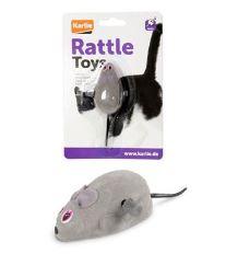 Hračka mačka Myš naťahovacie FL