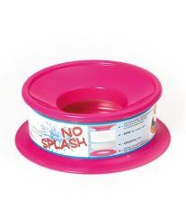 Nerozlitelná miska pro psy Argi - růžová - 22 x 9,5 cm