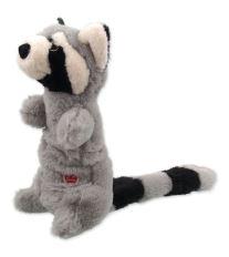 Hračka DOG FANTASY Skinneeez Plush pískací mýval 45 cm