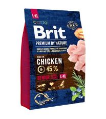 Brit Premium by Nature Dog Senior L+XL 3 kg