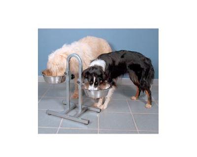 Trixie Psie bar misky s nastaviteľnou výškou do 43 cm, 2,8 l