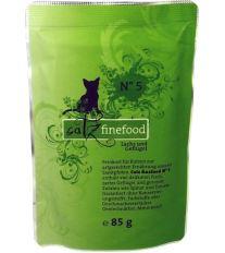 Catz Finefood No.5 Kapsička - losos & hydina pre mačky 85 g