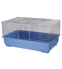 Klietka SMALL ANIMAL K100N chrómová + modrá