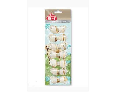 8in1 Dental Delights žuvacie kosti - veľkosť XS 86 g