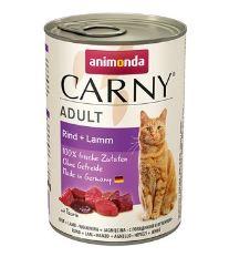 Animonda konz. kočka Adult hovězí/jehněčí 400g