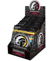 INDIANA Jerky kuřecí, Original, 250g - display