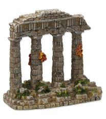 Dekorace AQUA EXCELLENT Zřícenina chrámu 11 cm 1ks