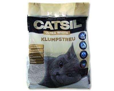 CatSil hrudkujúce bentonitové stelivo 8 l