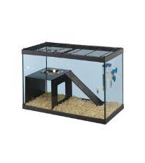 Box skleněný pro krysu RATATOUT 60 59,5x30,5x39,5cm