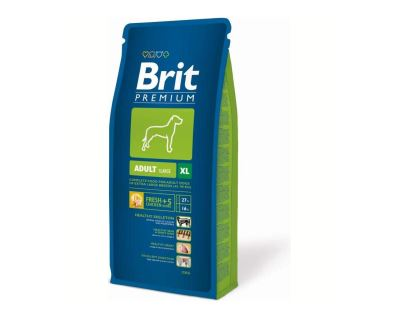 Brit Premium Adult XL 15 kg + 3 kg ZADARMO