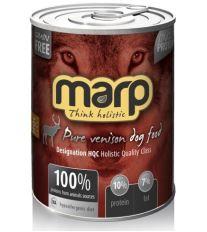 Marp Pure Venison konzerva pro psy 400g