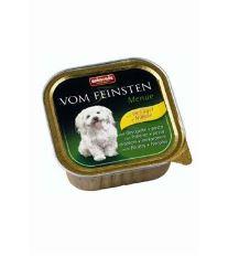 Animonda Vom Feinsten Menue Paštéta - hydina & cestoviny pre dospelých psov 150 g