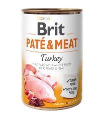 Konzerva BRIT Paté & Meat Turkey 400g