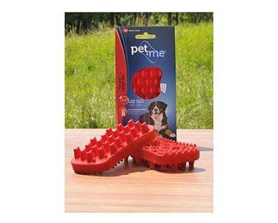 Pet and Me Kefa pre dlhosrsté psy červený