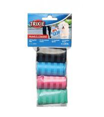 Trixie sáčky náhradné farebné na trus, 4 rolky á 20 ks