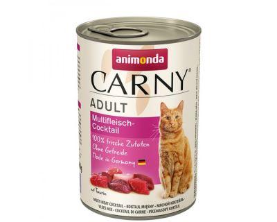 Animonda Carny Adult Konzerva - mäsový koktail pre dospelé mačky
