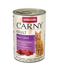 Animonda Carny Adult Konzerva - hovädzie & jahňacie pre dospelé mačky