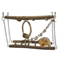 Hracka hlod. drevo Prolézacka závesná RW 27 x 8 x 29 cm